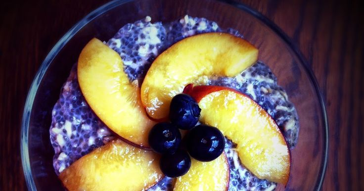 Inside The Lunchbox: How to make Chia Oatmeal Pudding