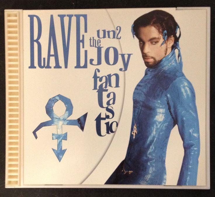 Prince CD Rave Un2 the Joy Fantastic ORIGINAL US CLAM SHELL RARE #Funk