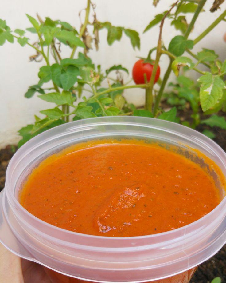 Salsa de tomate casera – Como Ser Vegano