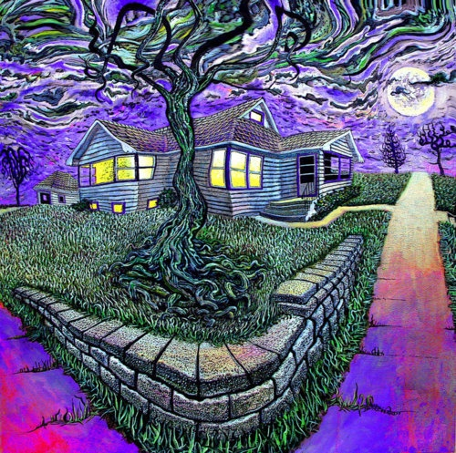 17 best images about trippy on pinterest trips collage for Trippy house music