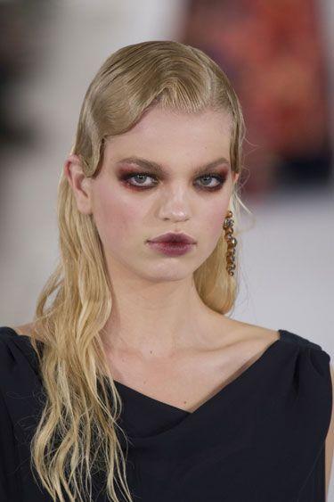 Fall 2013 Hair Trend Report: The Wet Look - Oscar de la Renta