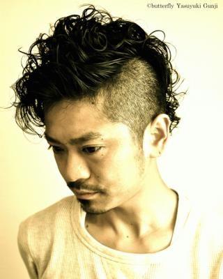 モヒカンパーマ Yasuyuki Gunji | 表参道の美容室 butterfly「バタフライ」