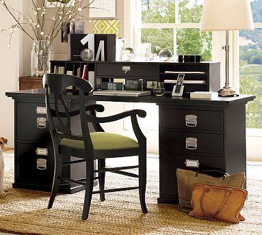 Bedford Desktop Set, 1 Desktop, 1 2Drawer File & 1 3
