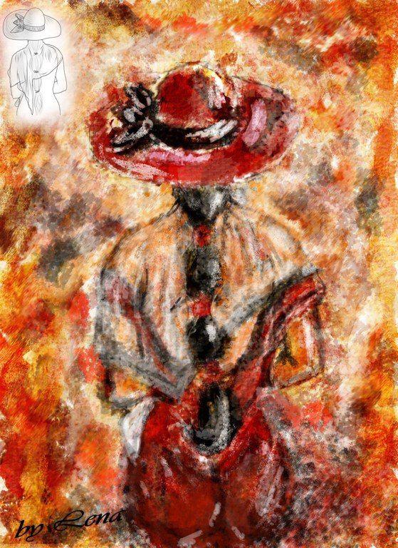 Первое мое рисовательное произведение в стиле Emerico Toth  Нарисованная картина маслом в фотошопе, рисовала с помощью мышки, ради эксперимента и забавы. Получилось действительно интересно, сама даже не ожидала такого эффекта, конечно на стену вешать не буду, но на память оставлю))