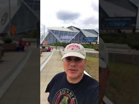 Mercedes-Benz Stadium Atlanta Falcons NFL Launch - YouTube