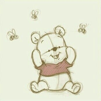 baby pooh bear tattoo - Google Search