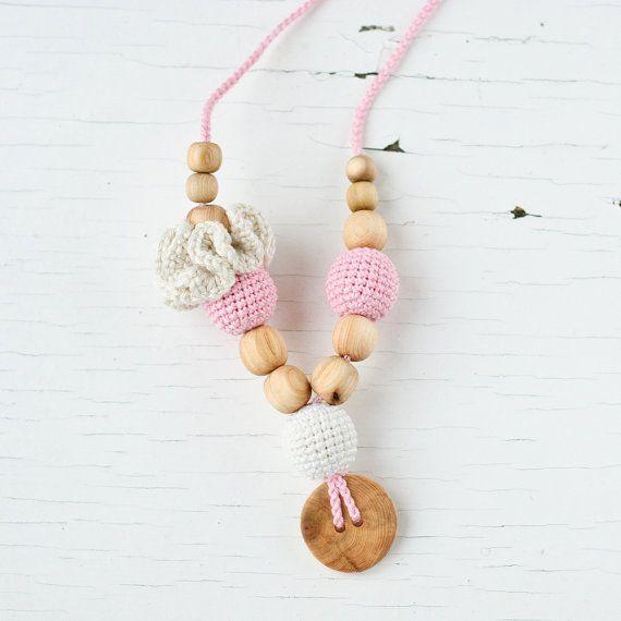 Nursing Necklace / Breastfeeding Jewelry  Baby by KangarooCare, $19.00
