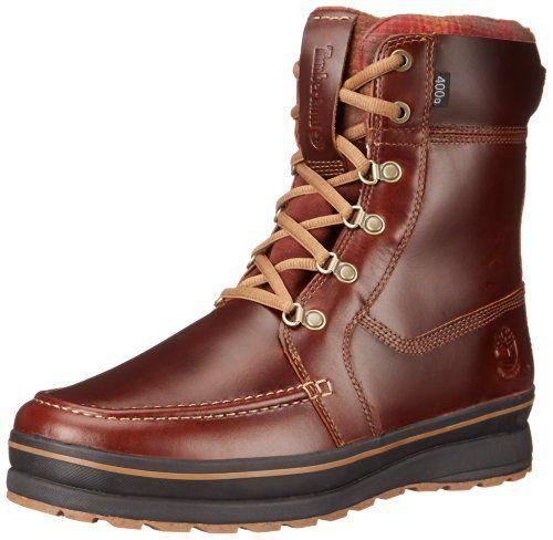Timberland Men's Schazzberg High WP Insulated Winter Boot, Brown, 11 M US