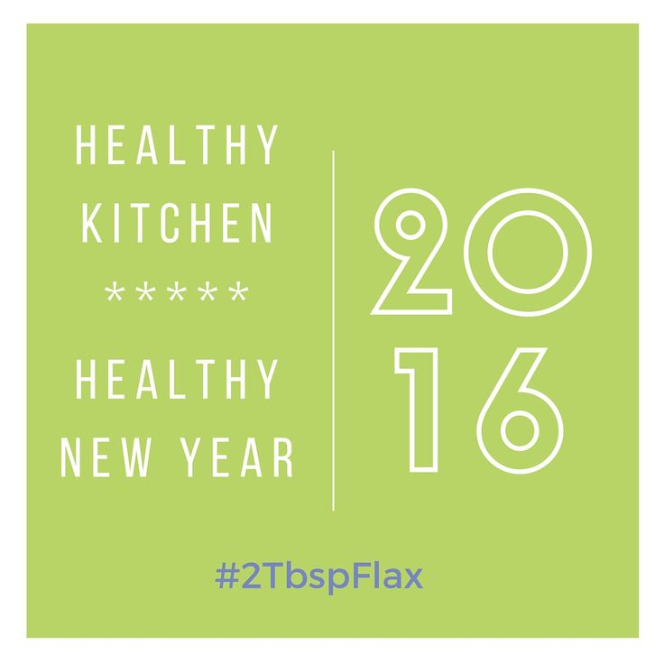Healthy Kitchen Healthy New year