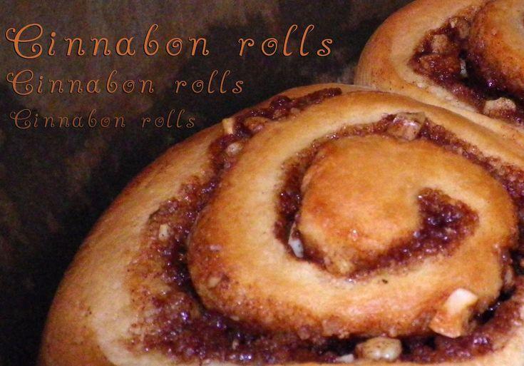 Ale Babka!!! i robi to co lubi:): Cinnabon rolls czyli drożdżówki cynamonowe