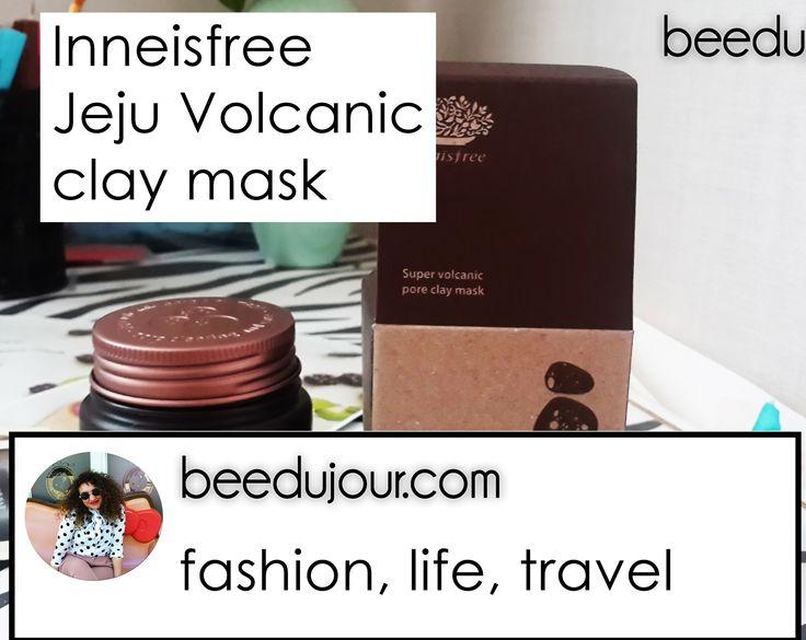 Innisfree Jeju Volcanic Mask · Bee Du Jour