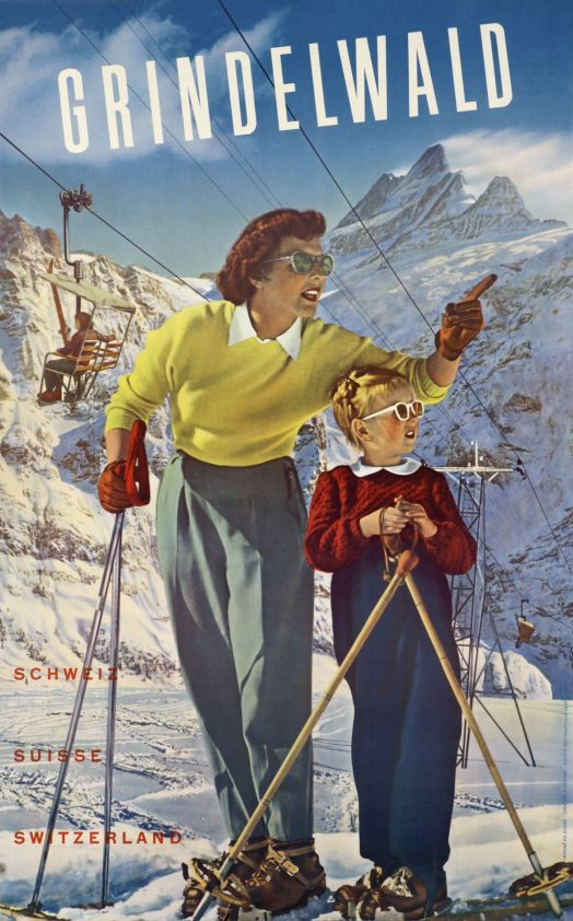 Travel poster Grindelwald