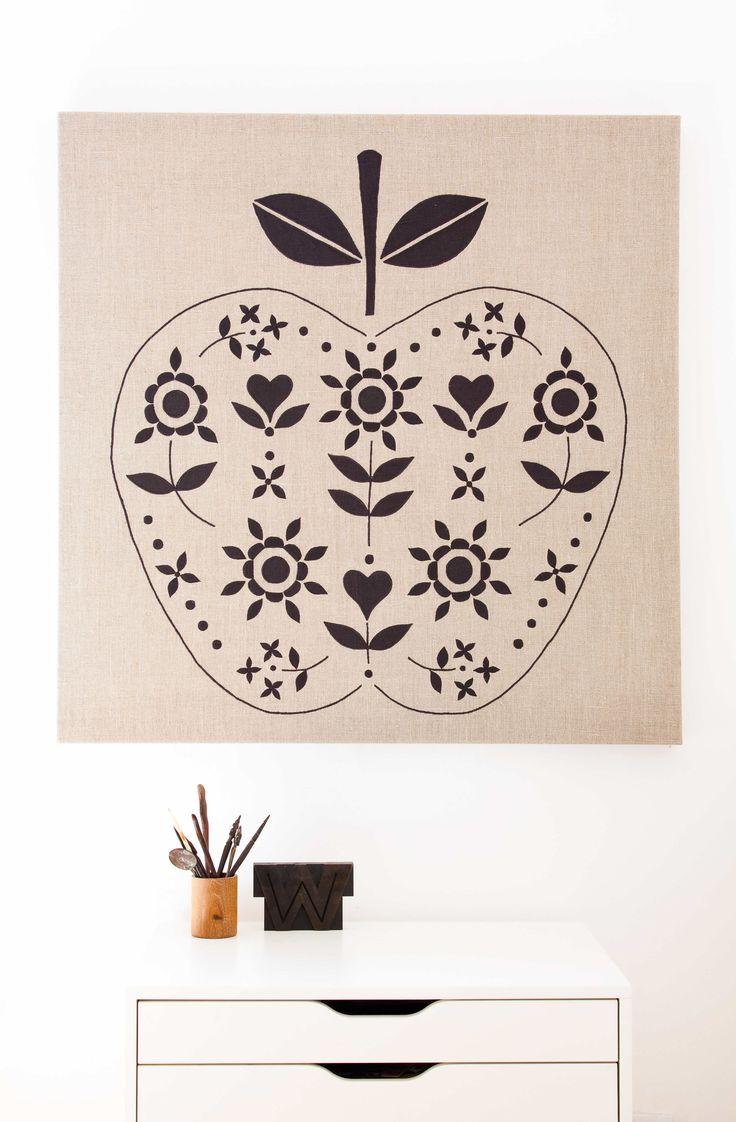 Bespoke Collaged Artwork - Unique Retro Prints - Textile Design Services - Rock Villa Designs