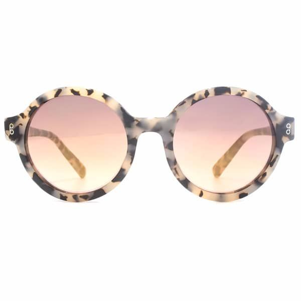 Pavilion Milk Tortoiseshell Sunglasses   Hook LDN   Wolf & Badger  /  Women / Accessories / Sunglasses