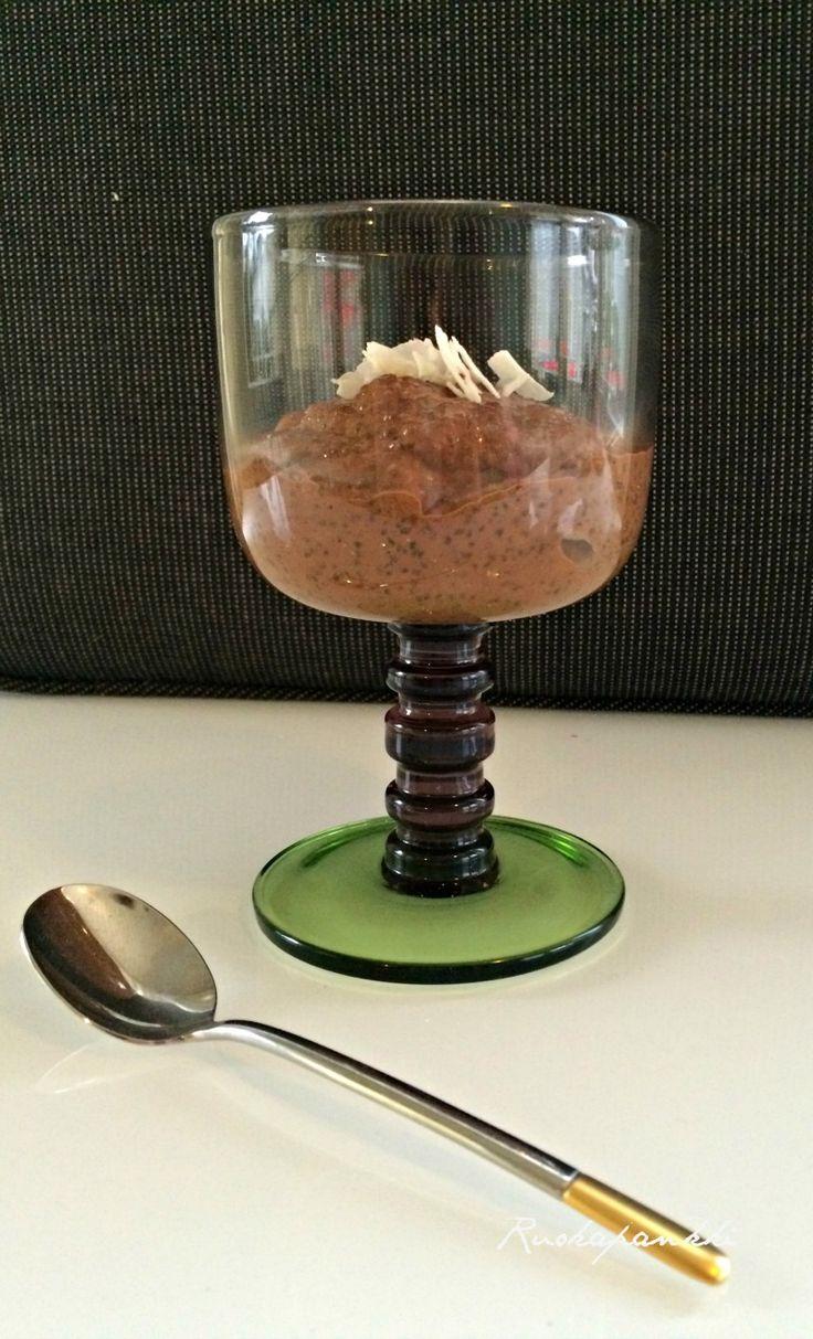 Ruokapankki: Chia-vanukas tiramisu twistillä