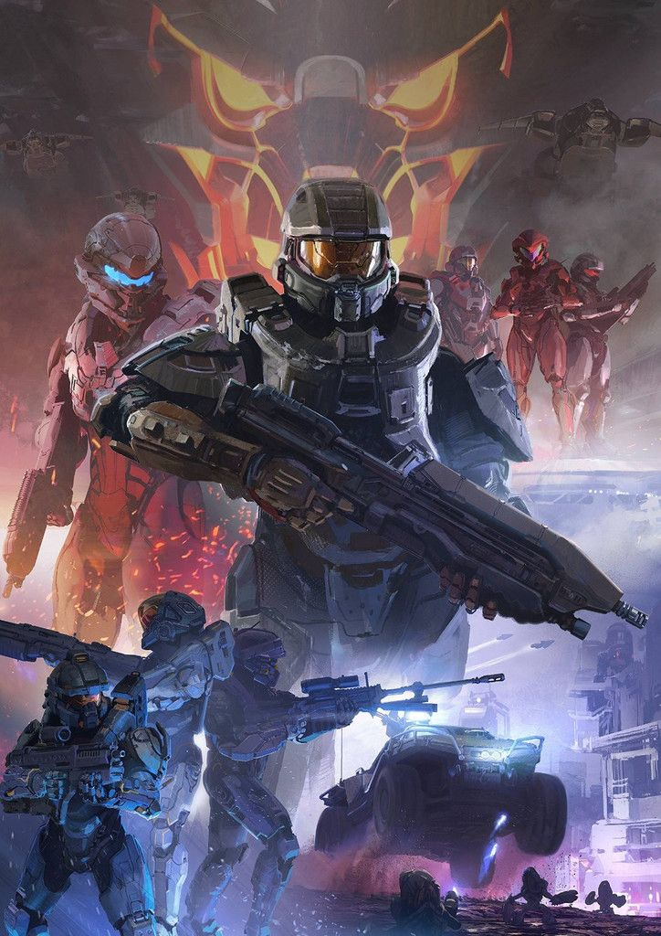 Halo 5: Guardians Poster
