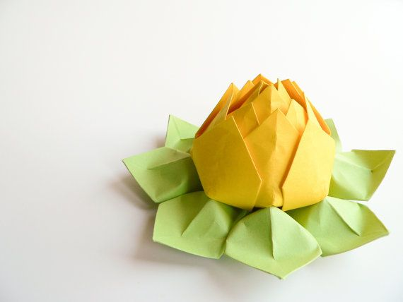 Handmade Origami Lotus Flower