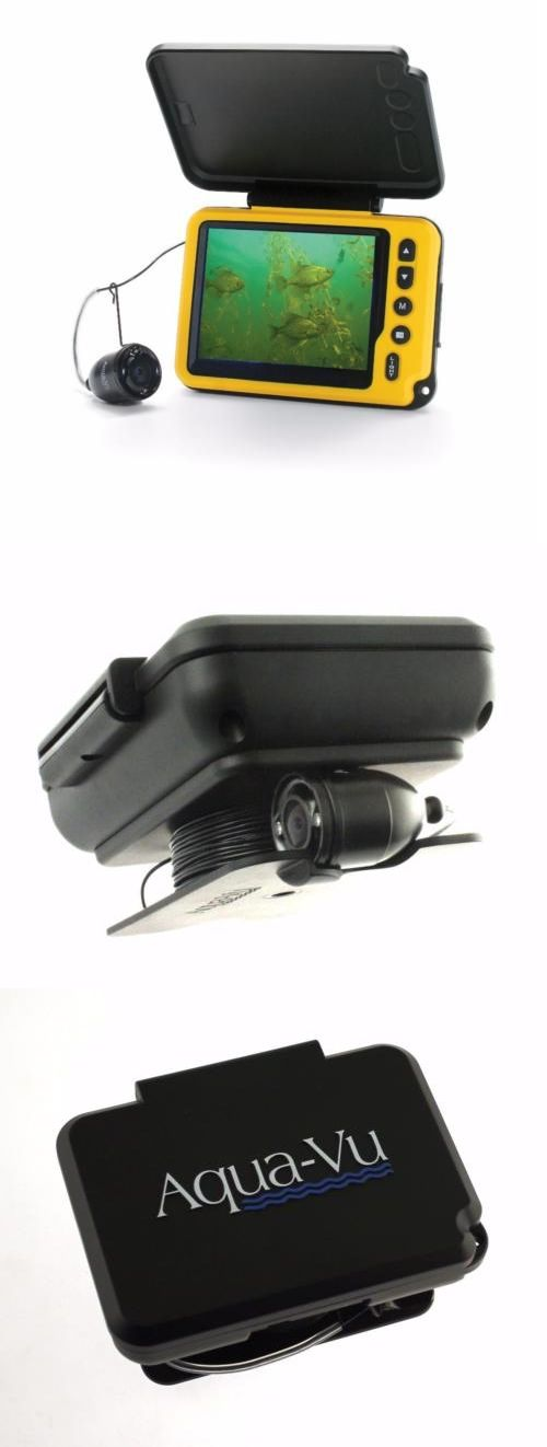Underwater Cameras 180000: Aqua-Vu Av Micro Plus Underwater Fishing Camera 3.5 Inch Color Lcd Sunshield -> BUY IT NOW ONLY: $399.99 on eBay!