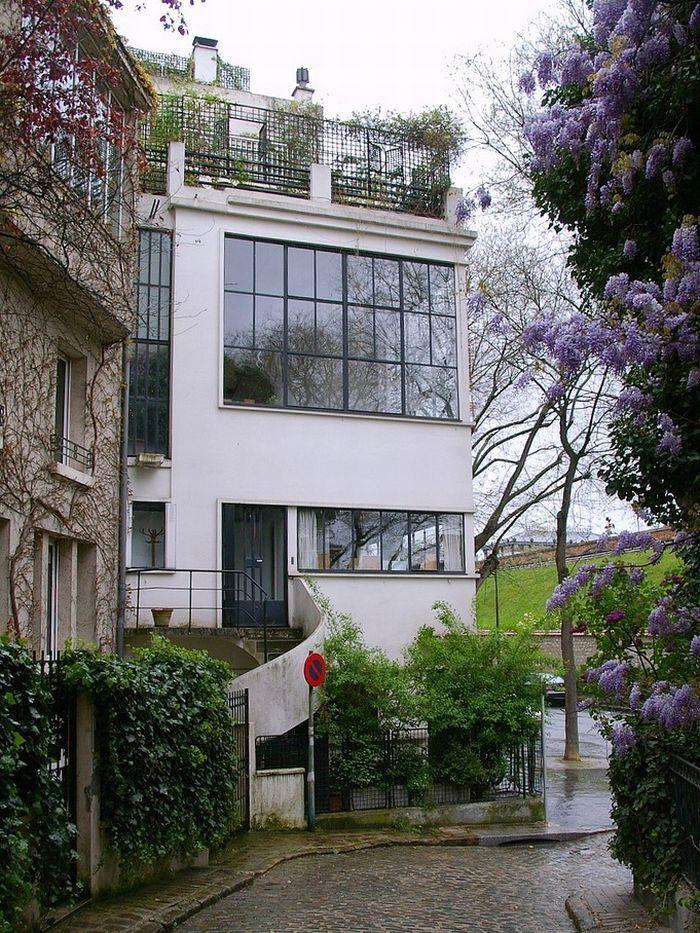 11 best images about le corbusier studio for amedee ozenfant paris 1922 on pinterest house. Black Bedroom Furniture Sets. Home Design Ideas