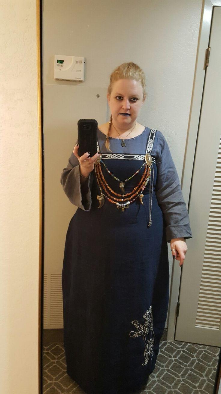 Apron Dress by Amanda Hall