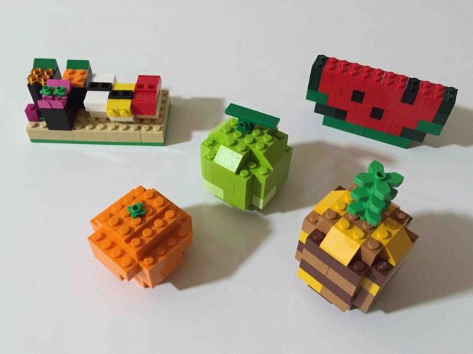 レゴ 黄色のアイデアボックス スペシャル 10698 の作り方 組みかえ