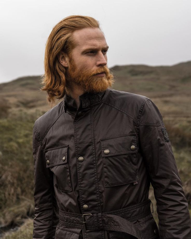 Stay protected and endure all weather conditions in a modern classic, like @gwilymcpugh. Reworked into a contemporary version of the original, our Roadmaster jacket is cut in a slimmer fit, lined with our heritage check and finished with signature moto styling for an iconic look. Click the link in our bio to shop the jacket, or join us in-store. #FitForPurpose #London #Manchester #Glasgow #NewYork #Munich #Milan #Seoul #Macau #Negoya