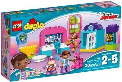 LEGO Duplo 10828 - Klinika pluszaków Lecznica Dosi (6818428433) - Allegro.pl - Więcej niż aukcje.