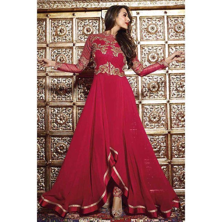 PRODUCT :- Bollywood Trendy Suit In Red Color pc : 7491 PAYMENT - COD/Bank Transfer  For PRICE & BOOK YOUR ORDE Do WHATSAPP +91-99-09-09-1413  Free Home Delivery  #mrandmrsbrand #traditional #indianwear #ethnic #stylisht #rampstyle #edd #ramjan #festival #designerfashion #luxury #fashionstylist #dubaishopping #ankellength #design #manishmalhotra #lamefashion #ramjaneid2016 #eid2016 #onlinedress #shoponline #pakistanidress