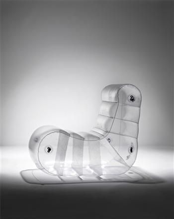 Beautiful designs by Quasar Khanh, inflatable furniture.