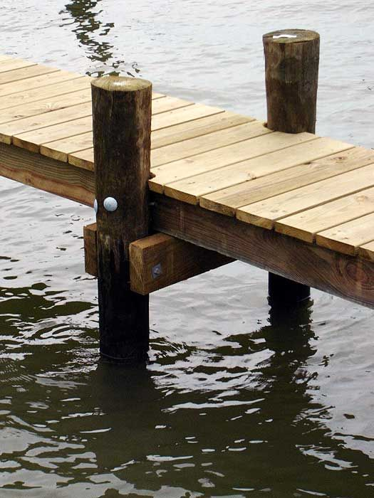 Pine Or Cedar For Dock Water Wood Poles American Pole
