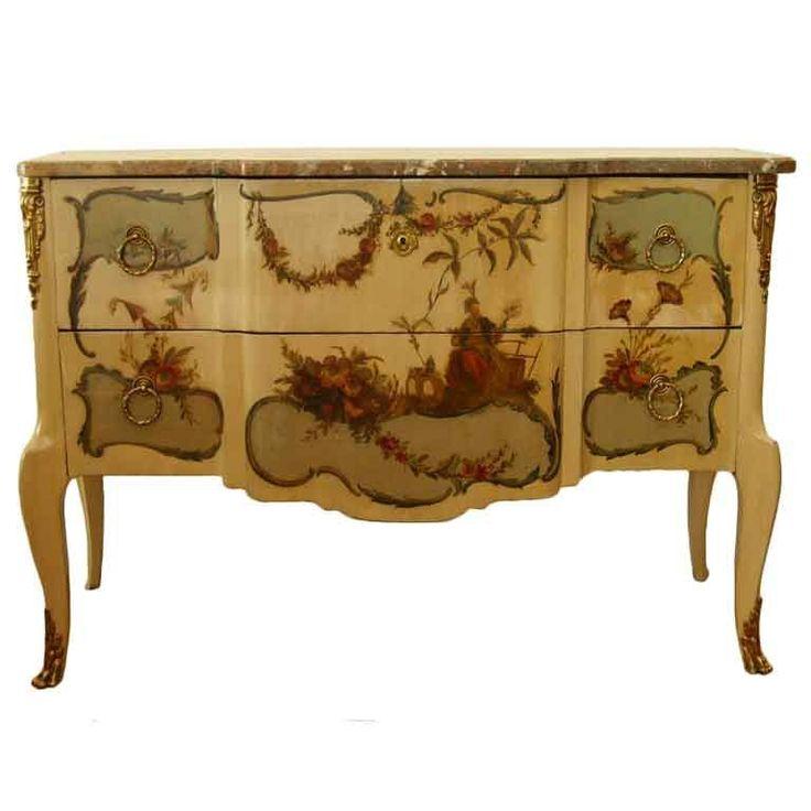 marinni: Мебель с росписью.Комоды.18-20 век.
