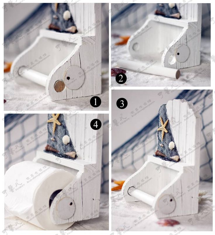 Mediterranean Wooden Toilet Paper Holder 15*20*9cm-inPaper Holders from Home Improvement on Aliexpress.com | Alibaba Group