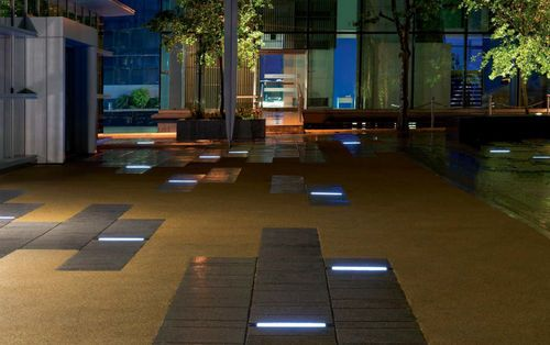 Exterior In Ground Light For Public Space LED ETR139 WE EF Exterior In  Ground Light For