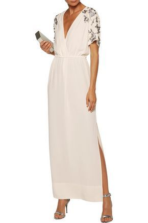 e94f911ca12e BY MALENE BIRGER Eviny embellished crepe gown