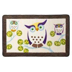 Awesome Owls Bath Rug