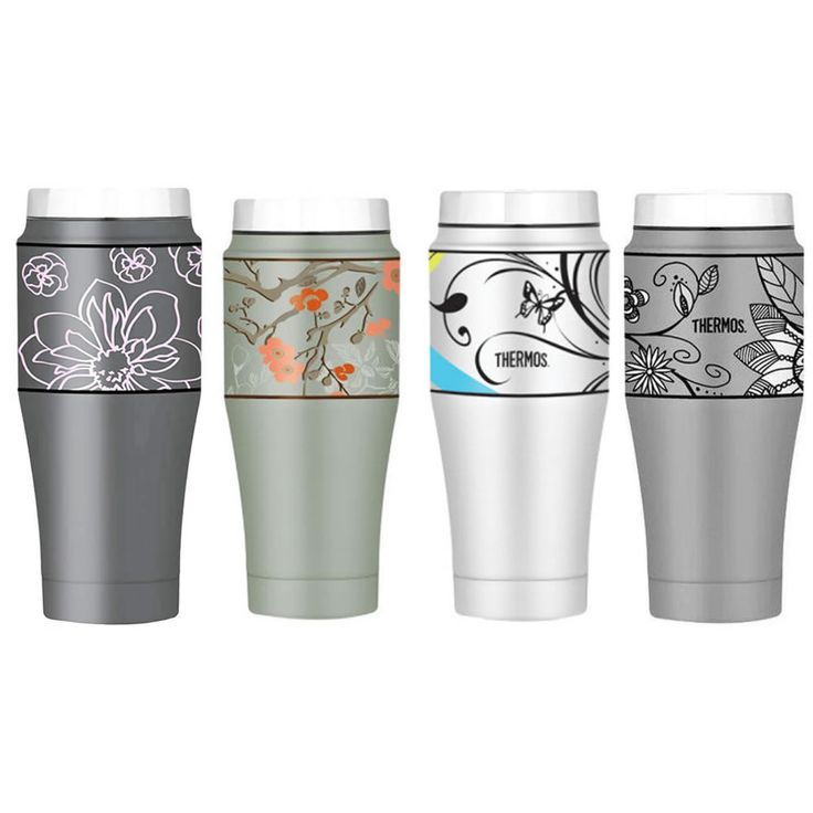 Thermos Vacuum Insulated Stainless Steel Double Wall