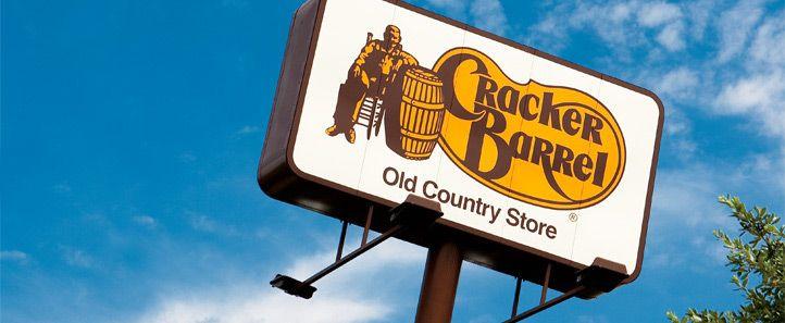 Cracker Barrell - chain restaurant