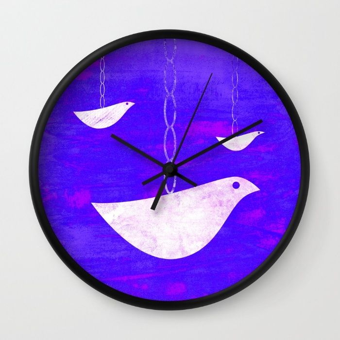 Learn to fly Wall Clock by Inmyfantasia