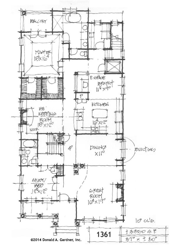 Charleston floor plan gurus floor for Charleston style home floor plans