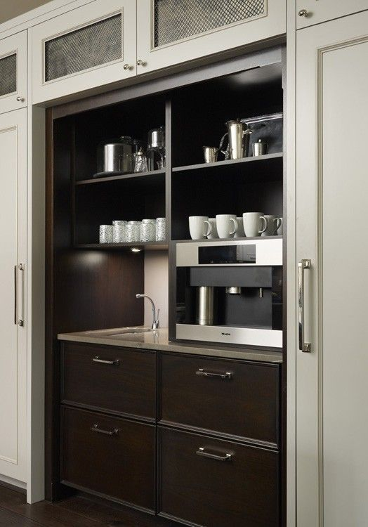 Coffee and beverage station, Hickman Design