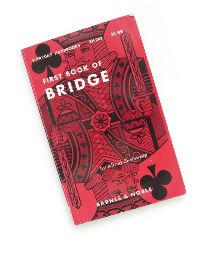 Vintage First Book of BRIDGE by Alfred Sheinwold - 1952 How To Play Bridge - Rules Bidding Tricks - Game Night - Collectible by shabbyshopgirls on Etsy