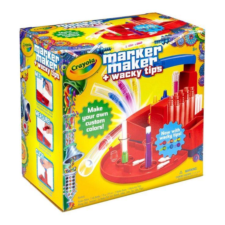 Crayola Marker Maker + Wacky Tips