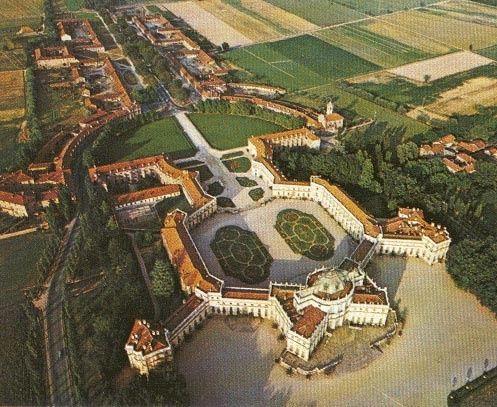 The Stupinigi Royal Palace, Turin, Piedmont, Italy