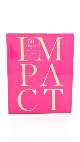Books with Style Impact: 50 Years of the Council of Fashion Designers of America