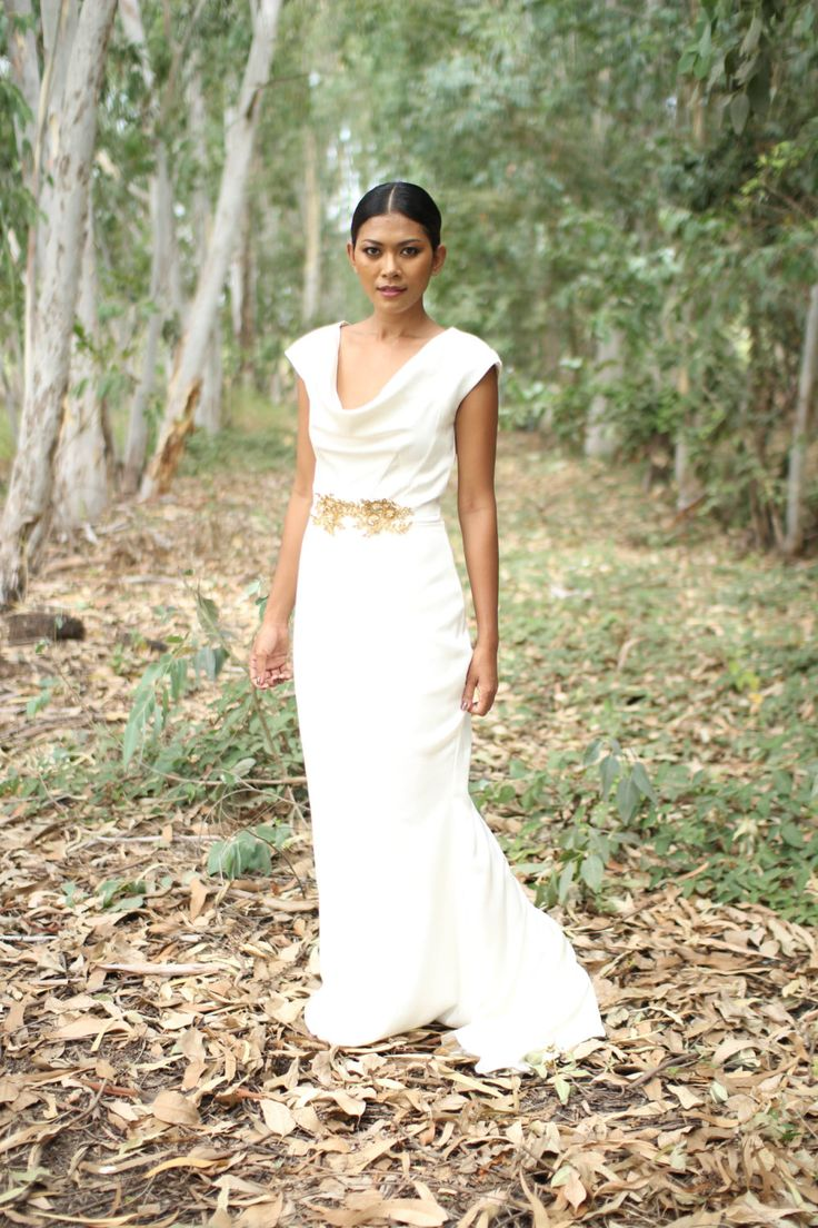 DIY Wedding Dress Package with pattern, tutorial & fabric - Pamela Gown by AnneNoelleBridal on Etsy
