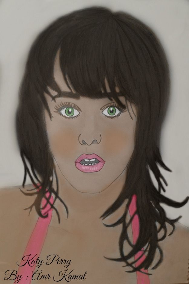 Katy Perry drawing