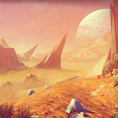 Exploring No Man's Sky, A Computer Game Forged by Algorithms | MIT Technology Review