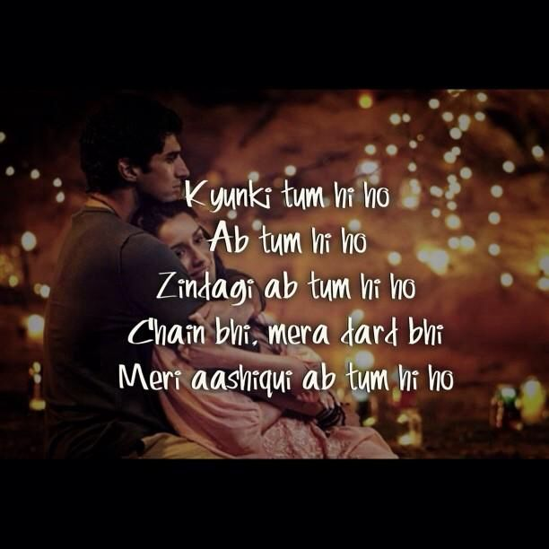 Aashiqui 2 quote | Bollywood...Areh vah! | Pinterest ...