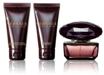 Versace Crystal Noir For Women - EDT 50ml Body and Shower Gel Body Lotion 50ml, price, review and buy in Dubai, Abu Dhabi and rest of United Arab Emirates | Souq.com