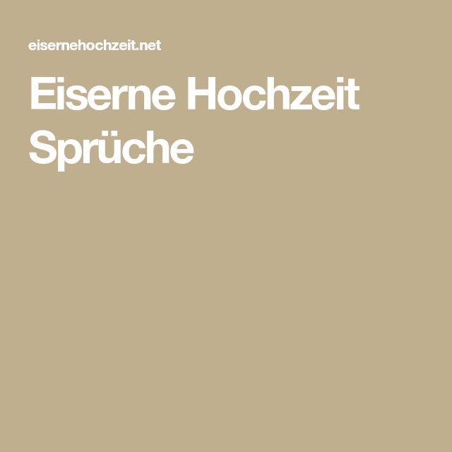 Rede Zur Eisernen Hochzeit Gluckwunsche Und Spruche Zur Eisernen